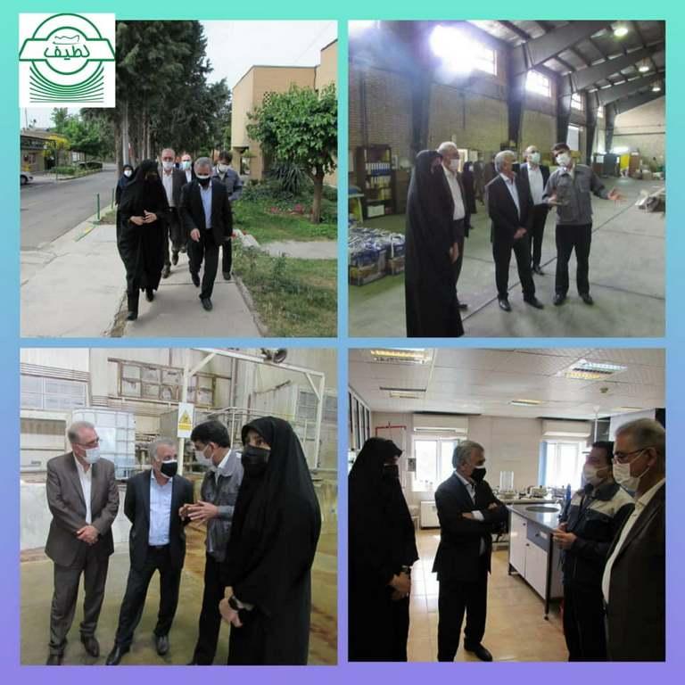 بازدید مدیران عامل تاپیکو و تاسیکو از شرکت محصولات کاغذی لطیف