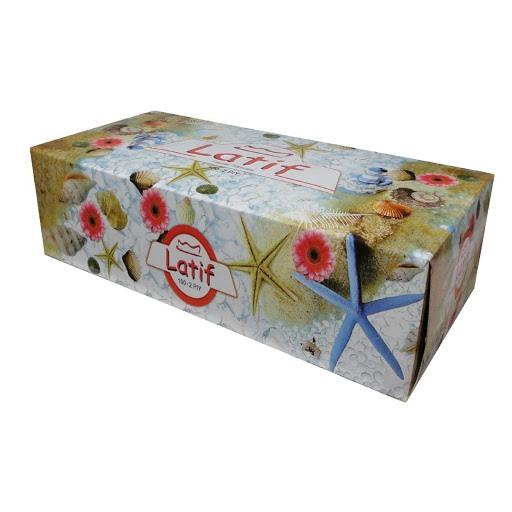 دستمال جعبه ای 200 برگ